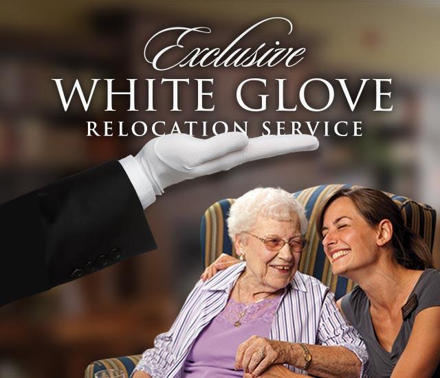 White Glove Relocation Services graphic
