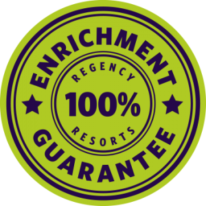 100% Enrichment Guarantee stamp
