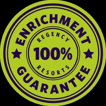 100% Enrichment Guarantee stamp
