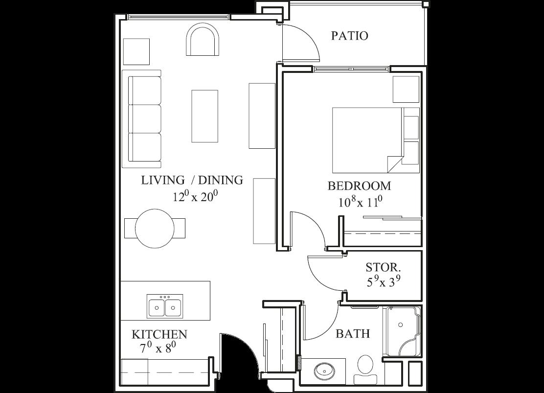 Southwood - Beechwood suite plan