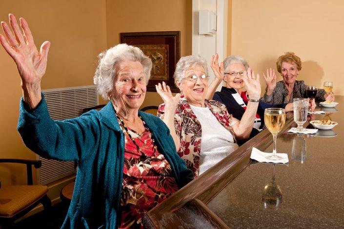 Regency - Wine at the bar