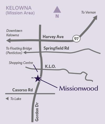 Missionwood location map