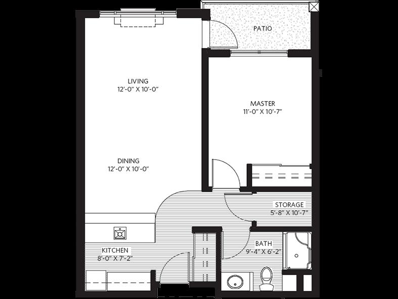 Parkwood - Beechwood suite plan
