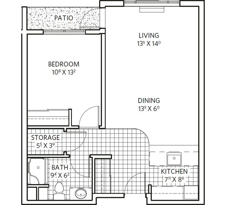Beechwood unit plan