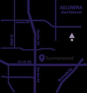 Summerwood area map